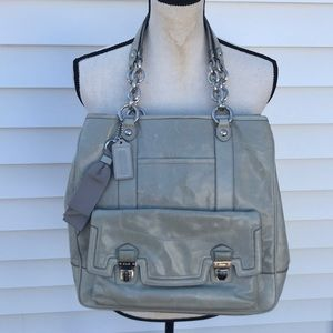 Coach beautiful large tote and very pretty color